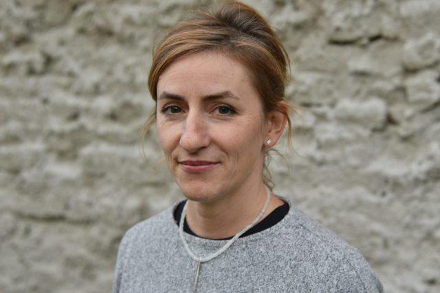 Sochařka Marta Hošková   foto: Šárka Kuchtová,  Český rozhlas