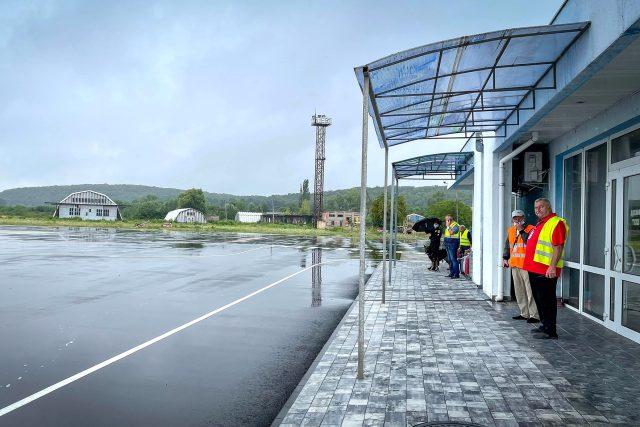 Letiště Užhorod | foto: Jan Hrabal