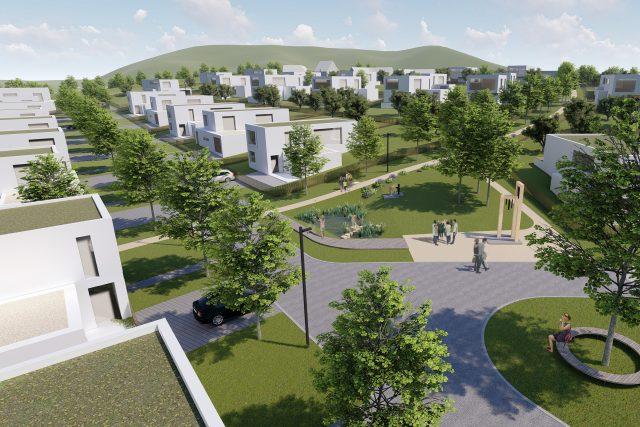 V návrhu počítali architekti s velkou plochou zeleně | foto: Atelier Vavřík