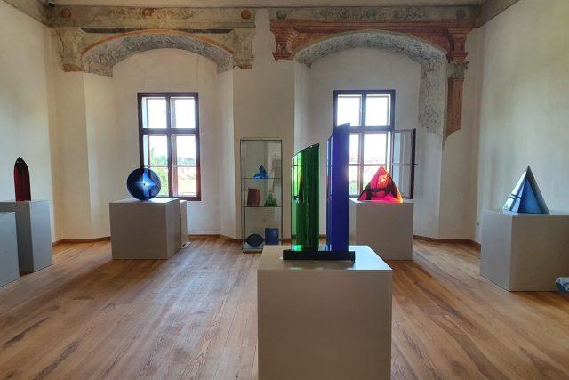 Petr Hora,  Sklo - výstava na zámku v Pardubicích | foto: Východočeské muzeum v Pardubicích