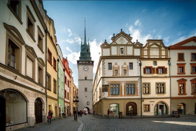 Vizualizace Zelené brány s omítkou | foto: statutární město Pardubice