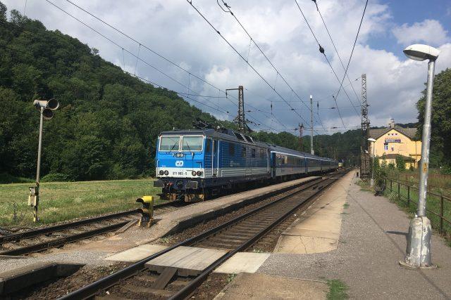 Současné nádraží v Brandýse nad Orlicí