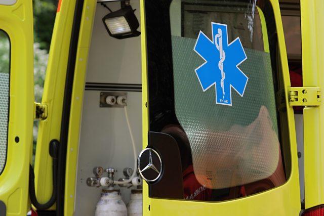 Vůz záchranné služby (ilustrační foto)