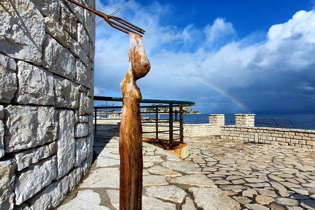 Pobřeží ostrova Korfu | foto: Pavla Smetanová,  Český rozhlas