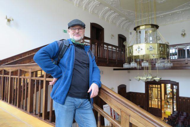 Ředitel Městského muzea v Ústí nad Orlicí Radim Urbánek