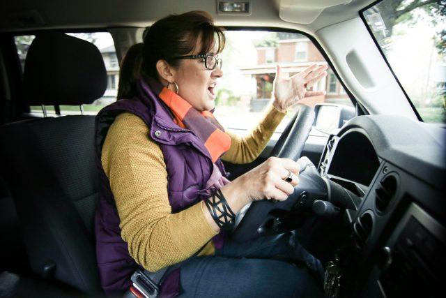 naštvaná řidička | foto: Flickr - State Farm,  CC BY 2.0