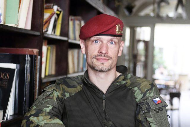 Výkonný důstojník na Generálním štábu Armády ČR Ivo Zelinka
