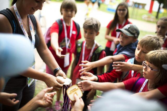 Děti si můžou vyzkoušet všechny dostupné sporty,  na konci je čeká odměna | foto: Sportovní park Pardubice