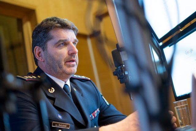 Policejní prezident Jan Švejdar