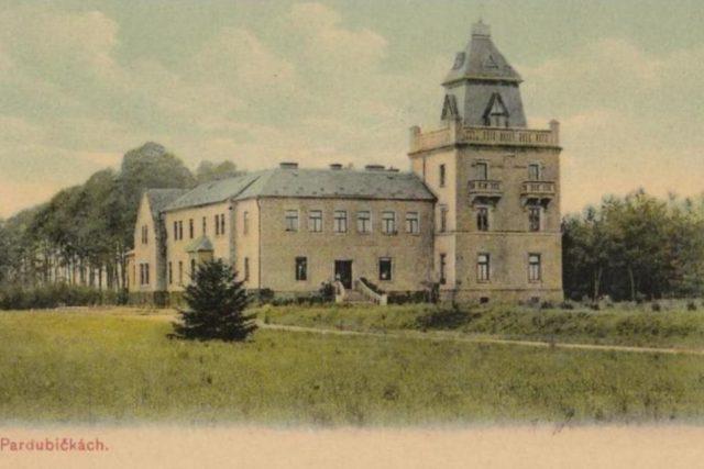 Historická fotografie Zámečku