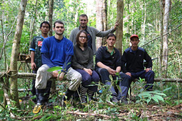 Výzkumný tým z Přírodovědecké fakulty Univerzity Palackého na Borneu