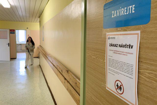 Zákaz návštěv v Pardubické nemocnici