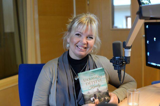Spisovatelka Danka Šárková byla hostem ve vysílání