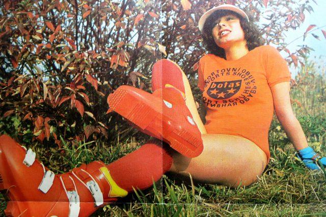Lyžařské boty značky Botas putovaly v osmdesátých letech do mnoha zemí Evropy a také Sovětského svazu