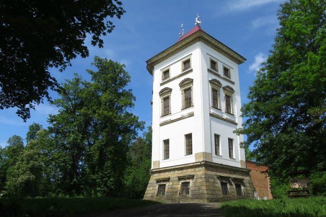 Z Nového zámku u Lanškrouna zbylo jen nároží | foto: Tereza Brázdová,  Český rozhlas