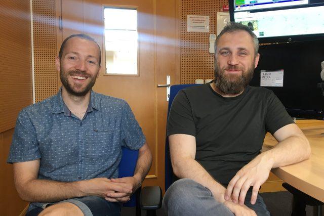 Jakub Jedlinský a Jan Zemen | foto: Jitka Slezáková,  Český rozhlas