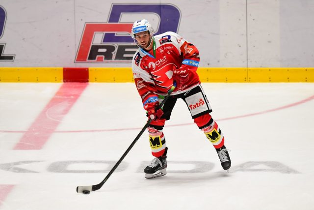 Hokejista Vladimír Svačina | foto: Ladislav Adámek,  HC Dynamo Pardubice
