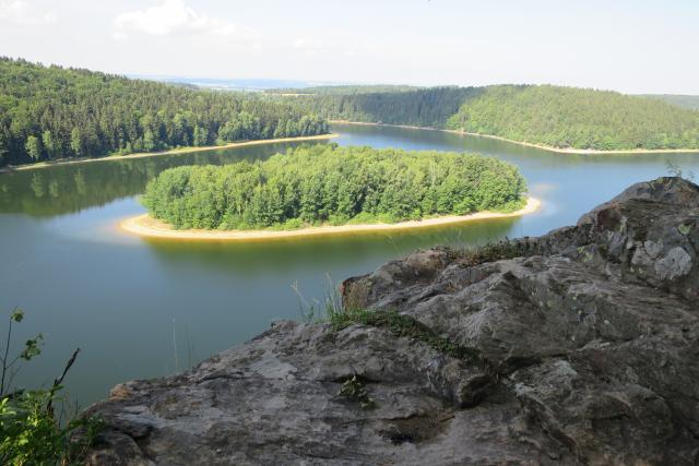 Sečská přehrada je pomyslným srdcem Geoparku Železné hory