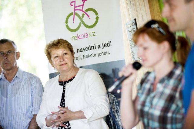 Náměstkyně primátora města Pardubic Helena Dvořáčková