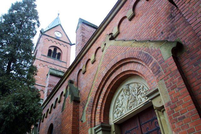 Kostel svatého Josefa ve Svitavách,  tzv. červený kostel | foto:  Radek Cihla / MAFRA,  Profimedia