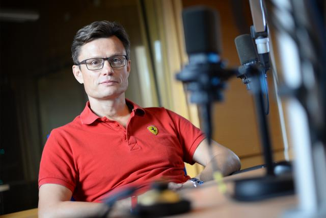 Neurolog Petr Geier | foto: Honza Ptáček,  Český rozhlas
