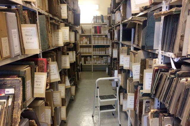 V budově v Pardubicích skladuje archív dva a půl kilometru dokumentů, zbytek v Přelouči a Hradci Králové