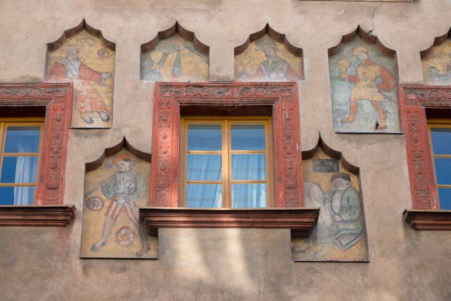 Odkryté malby na domě č. p. 11 v Pernštýnské ulici