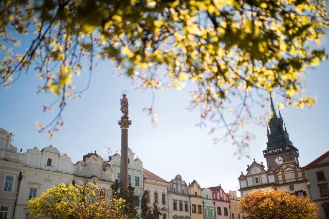 Pernštýnské náměstí v Pardubicích | foto: Tomáš Kubelka,  město Pardubice