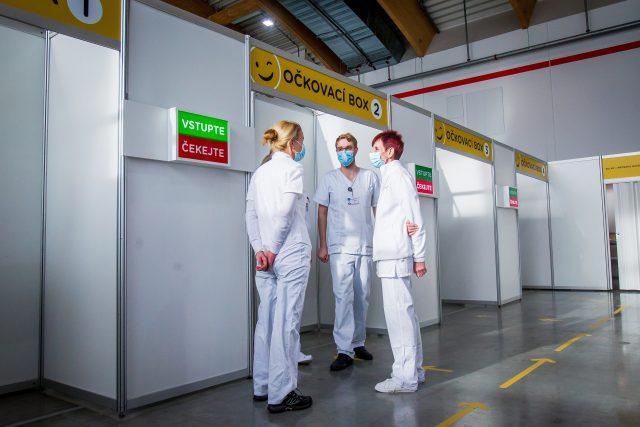 Očkovací centrum  (ilustrační foto) | foto: Petr Lundák,  MAFRA / Profimedia