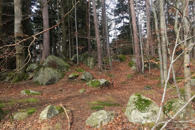 Těmto kamenům v lesích se říká kazatelny a používali se i třeba na výrobu mlýnských kamenů