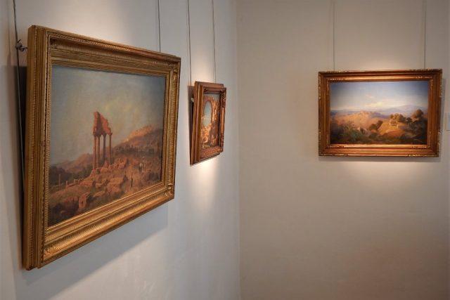 Obrazy na výstavě Z Torbole do Palerma