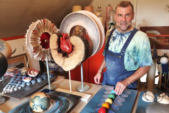 Díla keramika Miloslava Chaloupky z poslední doby