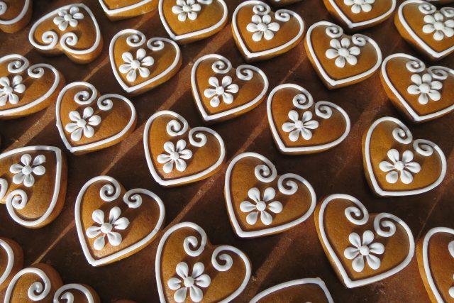 Malé perníčky z cukrářské dílny Pavla Janoše