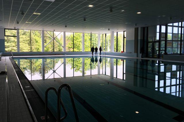 25metrový bazén v pardubickém aquacentru je těně před dokončením