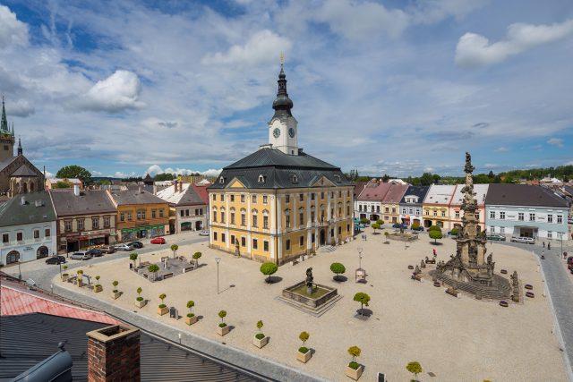 Dvě nejslavnější věže v Poličce | foto: archiv Centra Bohuslava Martinů