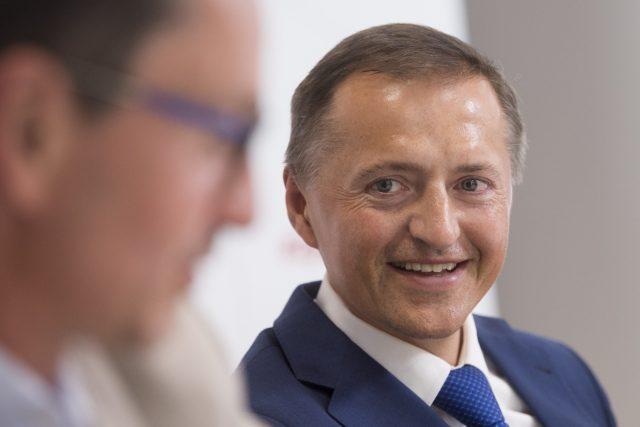 Většinový majitel hokejového klubu HC Dynamo Pardubice Petr Dědek