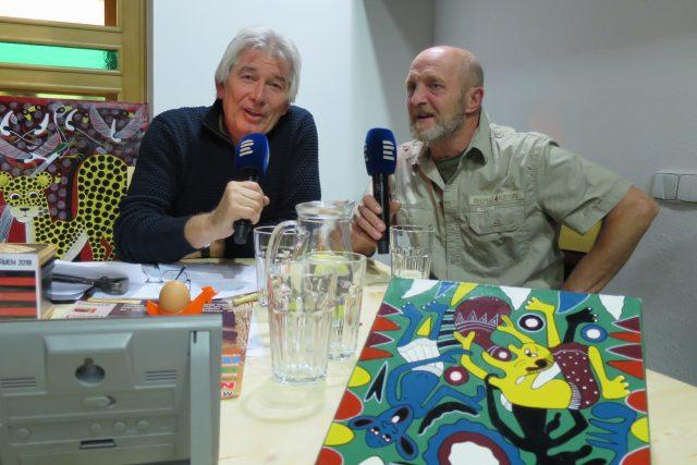 Jiří Rosa hostem pořadu Na cestách s Petrem Voldánem