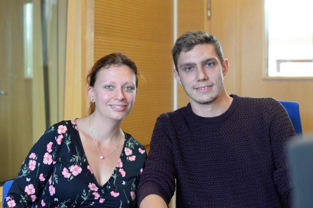 Lenka Machačová a David Švarc byli hosty Radioporadny