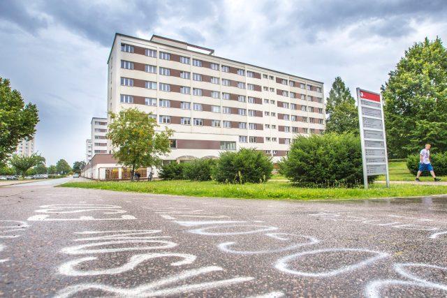 Sstudentské koleje Univerzity Pardubice | foto: Radek Kalhous,  MAFRA / Profimedia