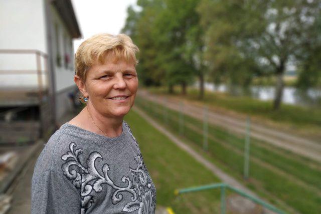 Vendulka Salfická pracovala v čistírně odpadních vod dlouho jako jediná žena | foto: Šárka Kuchtová,  Český rozhlas