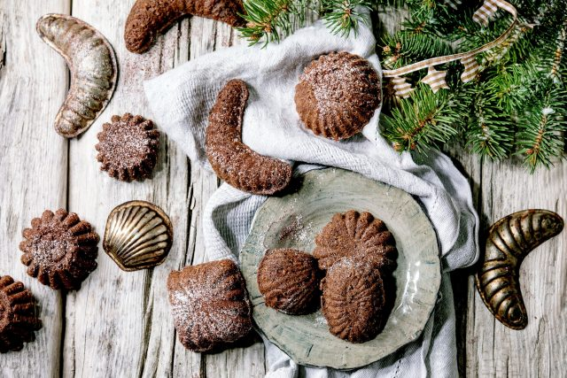 Pracny patří k oblíbeným druhům vánočního cukroví
