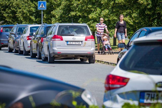Parkování v Pardubicích