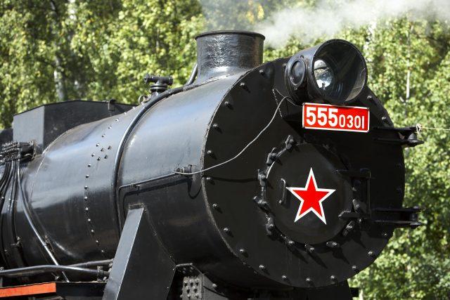 Detail parní lokomotivy Němka | foto: Profimedia