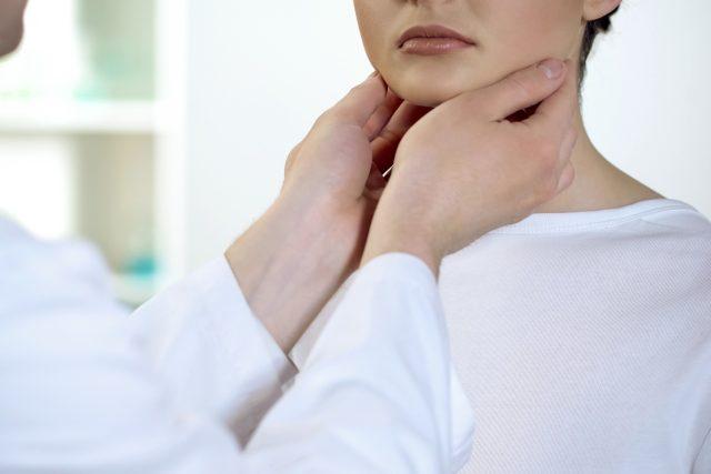 Vyšetření krku