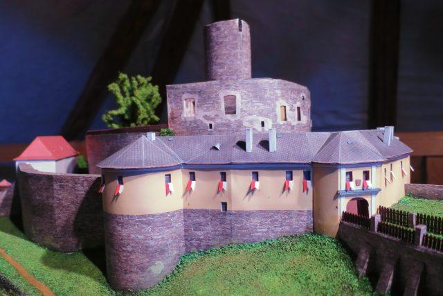 Model hradu Svojanov   foto: Tereza Brázdová,  Český rozhlas