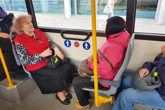 Cestující MHD (ilustrační foto)