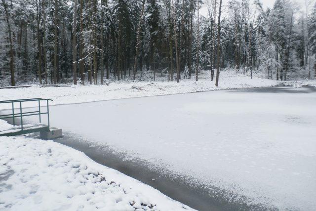 Obnovený rybník u Jaroslavi