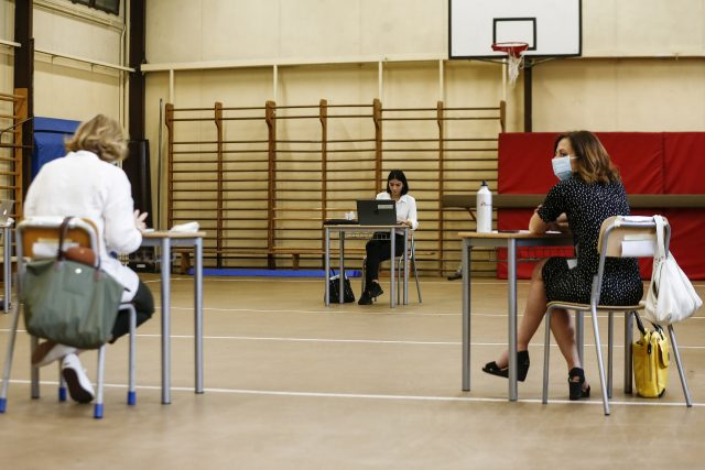 Maturita v době koronaviru  (ilustrační foto) | foto: Profimedia