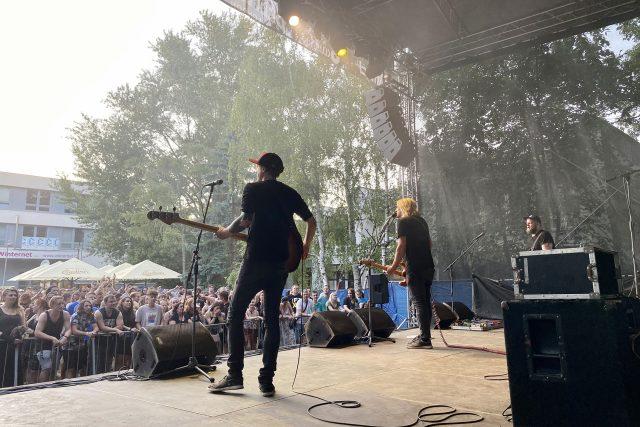 Atmosféra na koncertě Vypsané fixy   foto: Šárka Rusnáková,  Český rozhlas