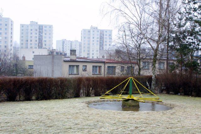 Dětské hřiště v Chrudimi